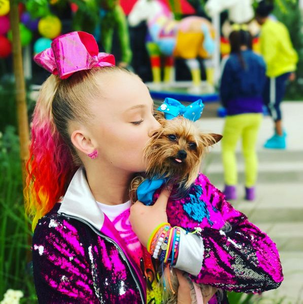 How Old Is Jojo Siwa S Dog