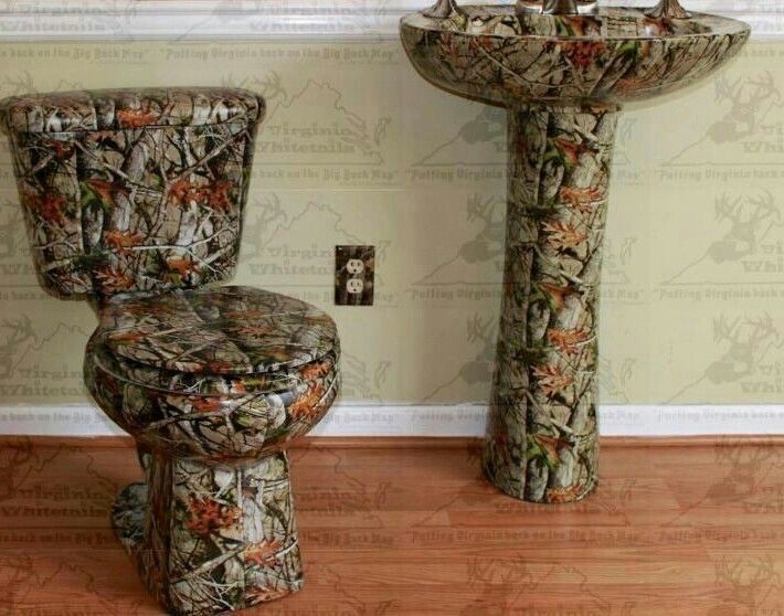 Image Result For Camouflage Sink Amp Toilet I Have To