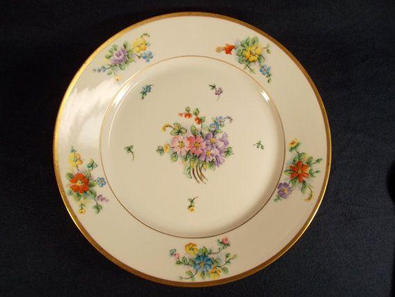 Antique PT Bavaria Porcelain Collectible Hand Painted Decorative Plate C.1920/'s