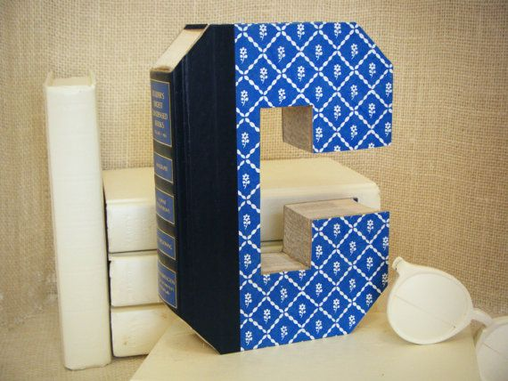 ALPHABET LETTER C Book Art Cut Book Letter Book by TwistedPages