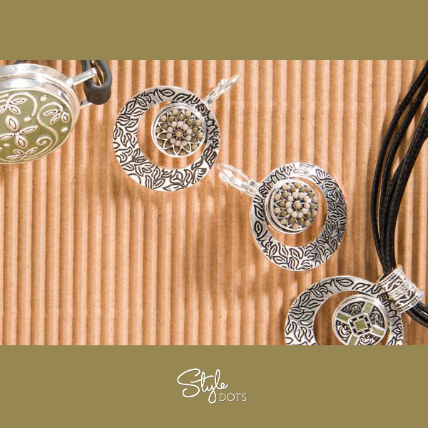 Graceful, yet striking: our new Flourish line! #styledots