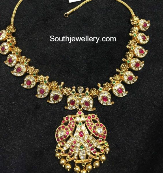 Kundan Mango Necklace photo