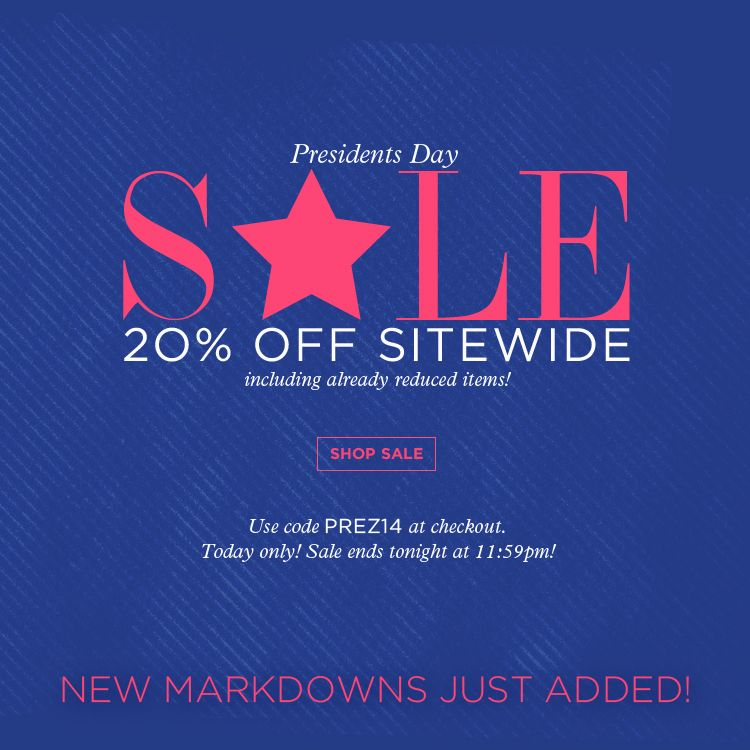 President S Day Sale: Take 20% Off Sitewide At Www