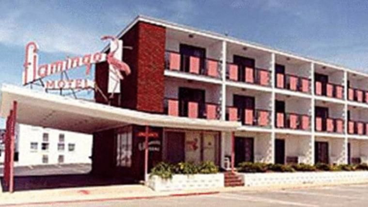 Flamingo Motel 1962 Ocean City Ocean City Maryland Ocean City Md
