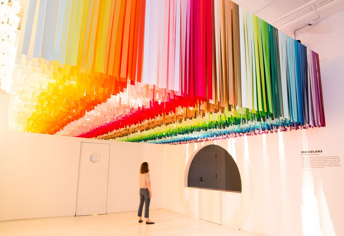 A Look Inside Color Factory S Pop Up Exhibition In Nyc