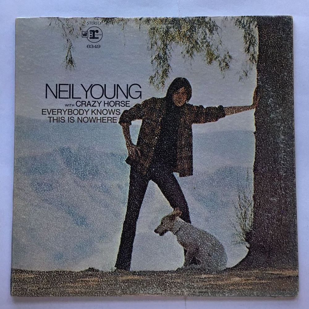 NEIL YOUNG & CRAZY HORSE [LP] EVERYBODY KNOWS THIS IS NOWHERE (RS 6349) RECORDS