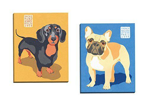 Portfolio Canvas Decor Show Dogs French Bulldog by Jenny Wiscombe ...
