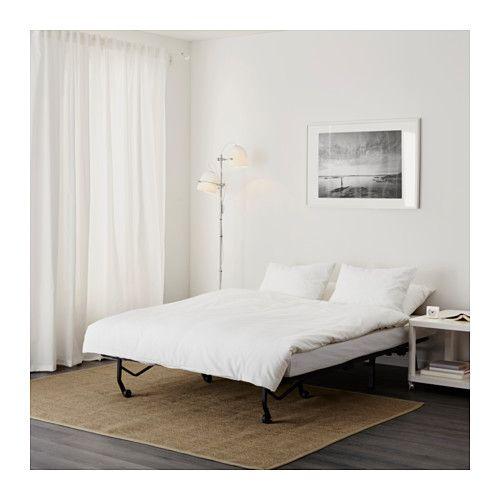 Lycksele L 214 V 197 S Sleeper Sofa Ebbarp Black White Ikea