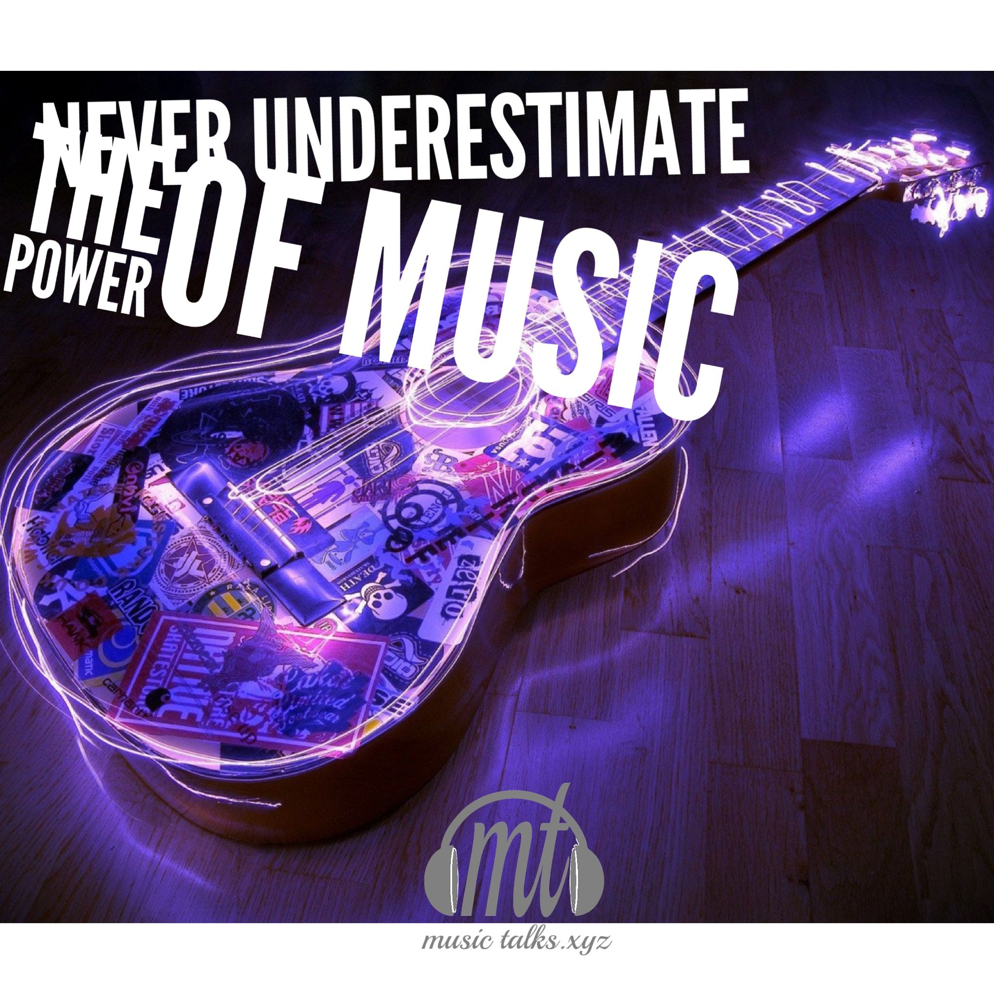Never underestimate the power of music