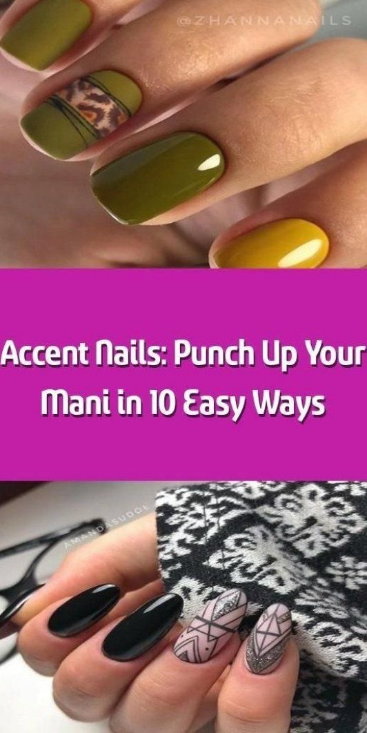 Accent Nails  Punch Up Your Mani in 10 Easy Ways -    A mani with accent nails h    -  Accent Nails  Punch Up Your Mani in 10 Easy Ways        A mani with accent nails has never lost its -  accent  AccentNails  Easy  Mani  NailArtGalleries  nails  punch  StilettoNails  ways #manicures #heart #accent #accent #nails #ring #finger