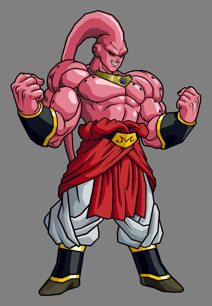 Super buu broly absorbed by hsvhrt on deviantart all things dragonball z dragon ball - Bou dragon ball z ...