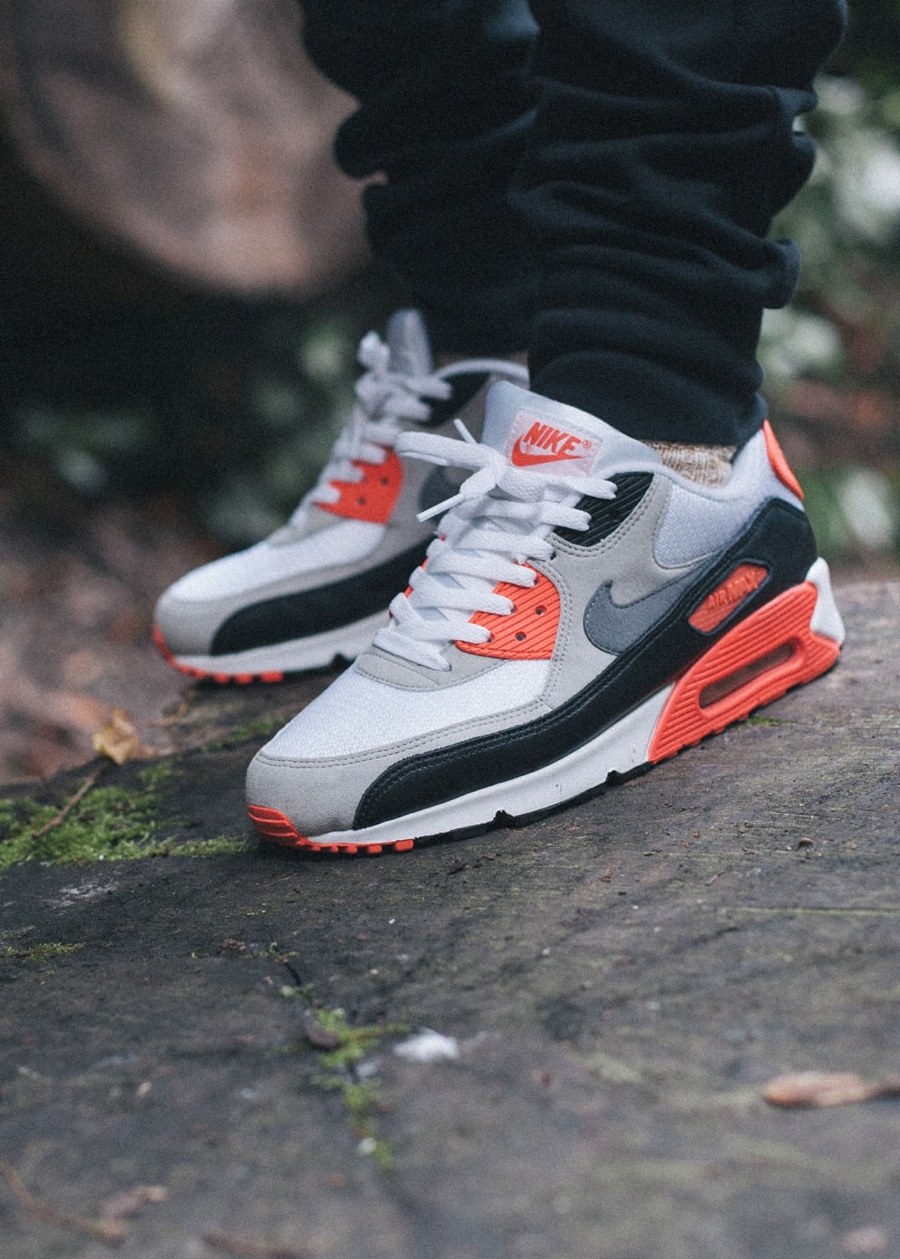 Nike Air Max 90 'Infrared'. | Sneakers fashion, Sneakers