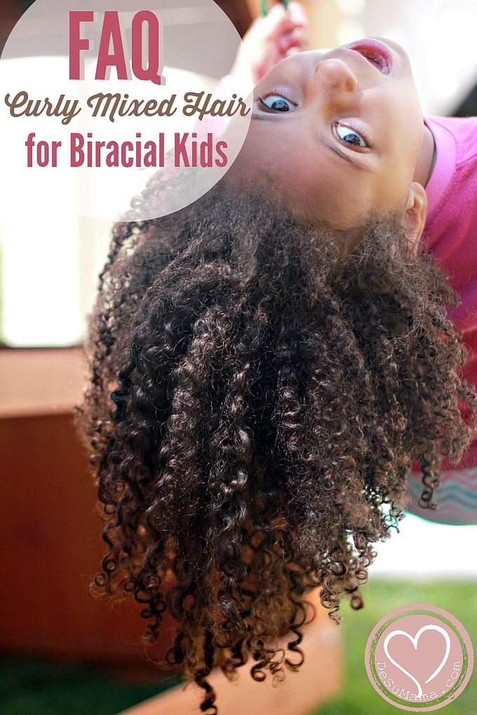 Faqs How To Manage Curly Biracial Hair Biracial Kids Hair Care
