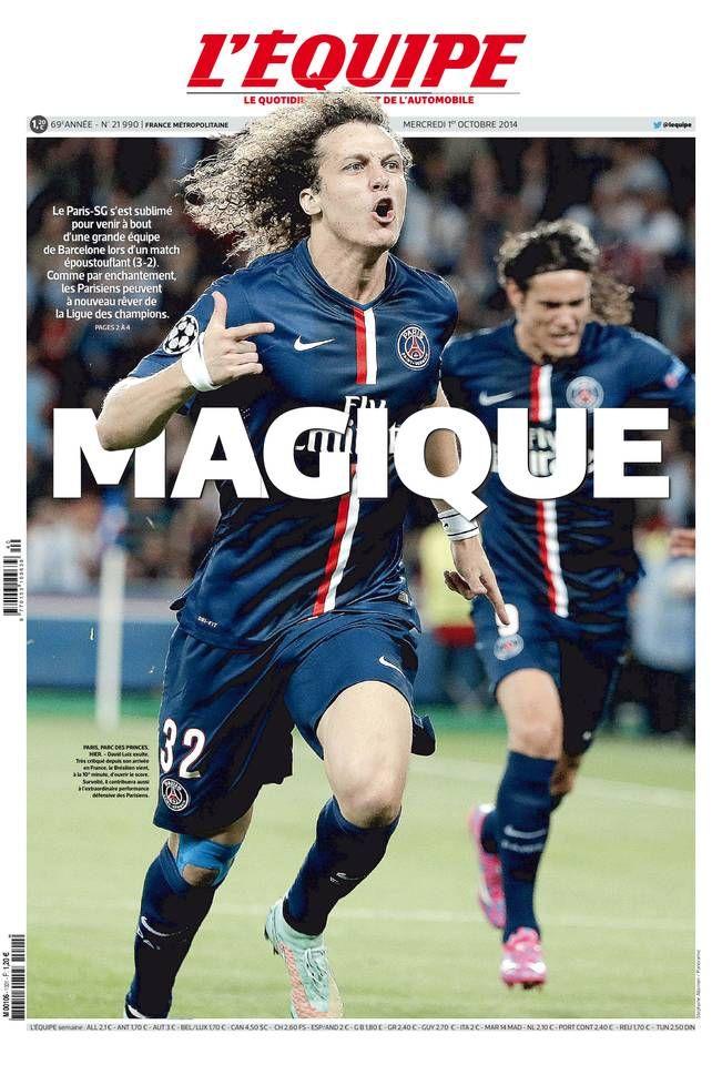 L'Équipe - Mercredi 1er Octobre 2014 - N° 21990