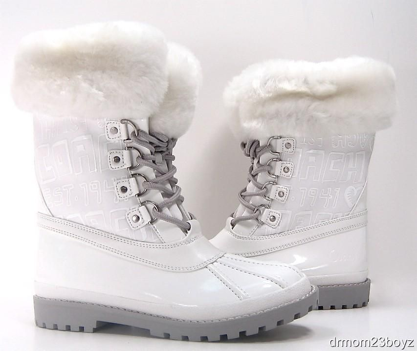 white winter boots for women with fur | Clothing, Shoes & Accessories > Women's Shoes > Boots