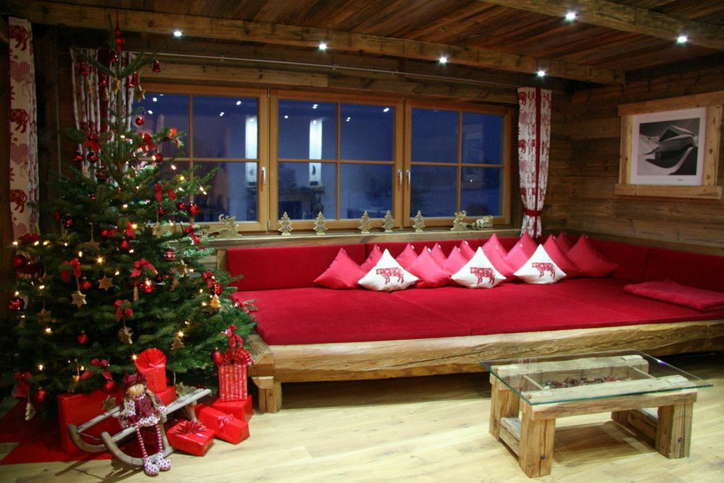 Spend the holiday season at one of the most exclusive buildings in the Zillertal area, Austria, located on a knoll at the edge of the woods.