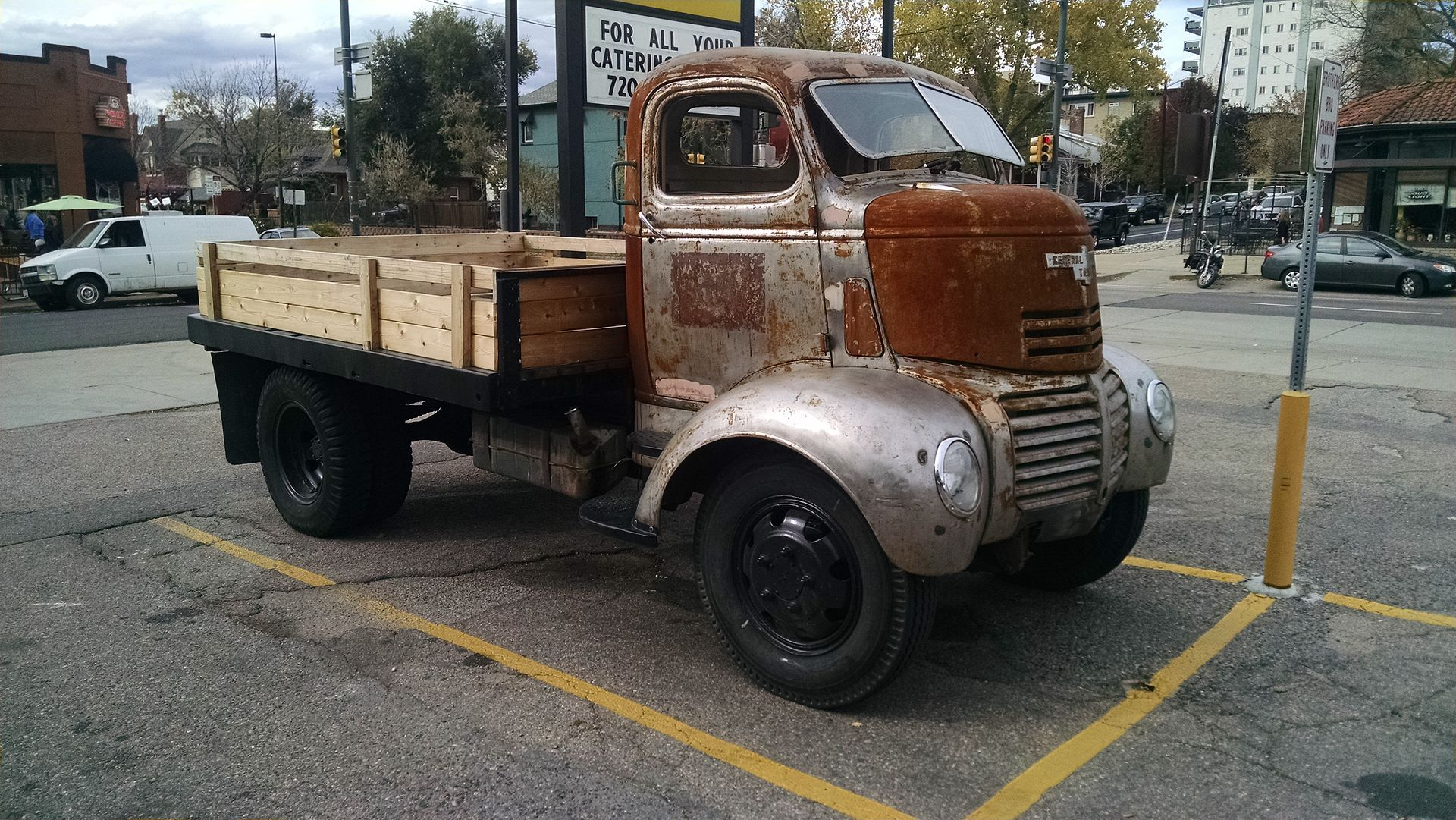 1947 Gmc Ff250 Series Cabover Truck Side View Automobile 1951 1953 Chevrolet Pickup Jada Wikipedia