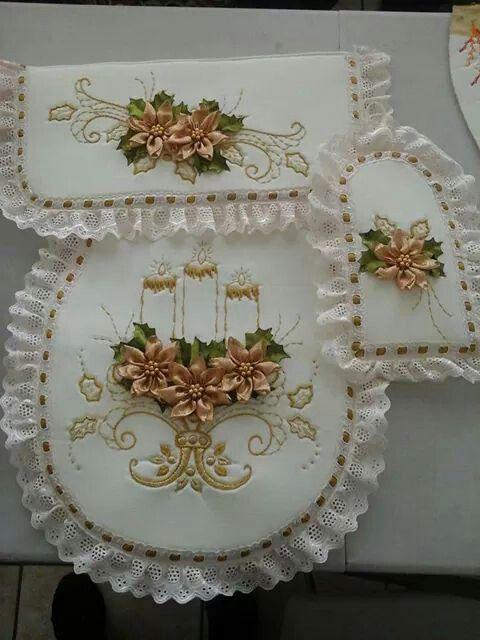 Dorado Navidad Pinterest Toilet Embroidery And