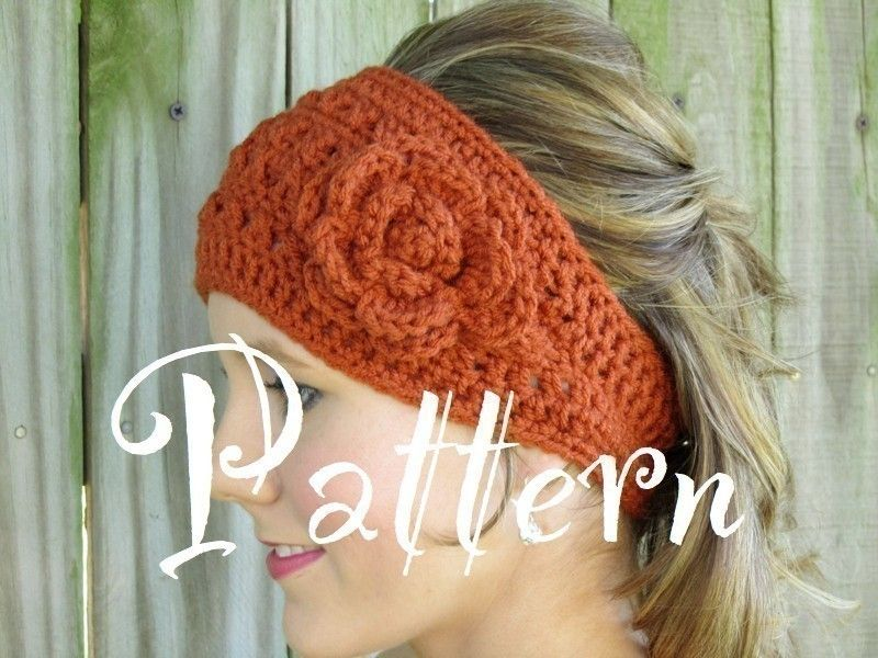 Colorful Crochet Head Wraps Patterns Photo - Blanket Knitting ...