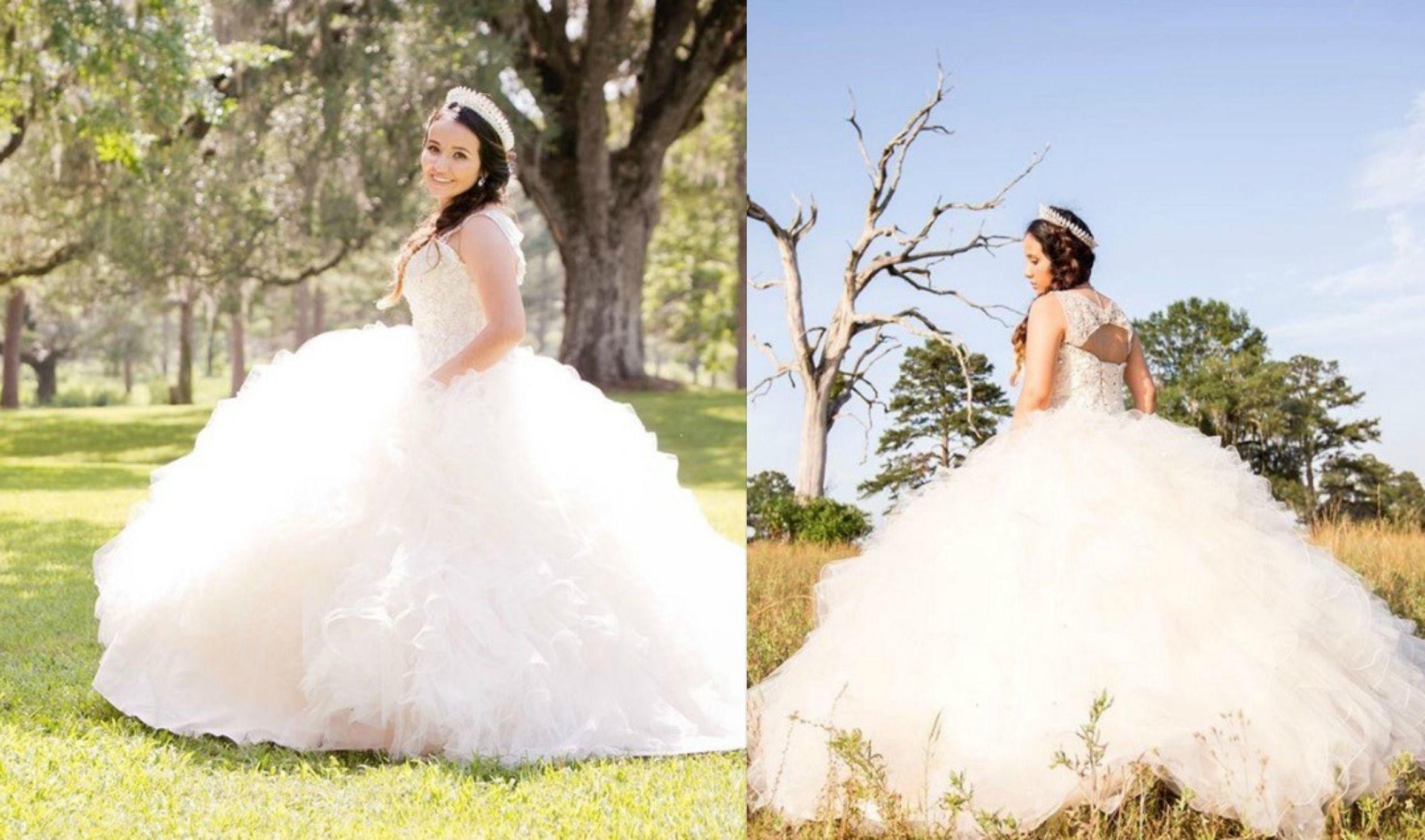 Quinceanera Dresses White