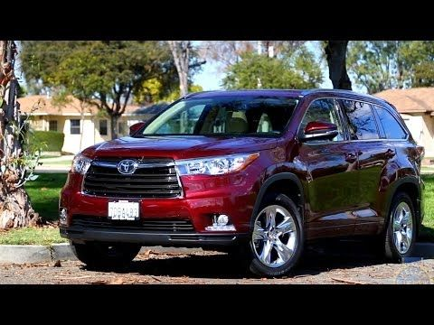 2015 Toyota Highlander Review Kelley Blue Book Youtube Toyota