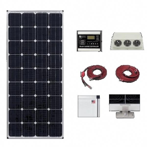 Zamp 160 Watt Deluxe Solar Kit Solar Kit Solar Panels For Home Solar Panels