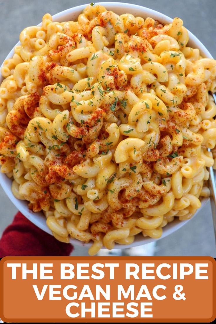Easy Creamy Mac N Cheese Recipe In 2020 Vegetarian Vegan Recipes Vegan Mac And Cheese Breakfast Brunch Recipes