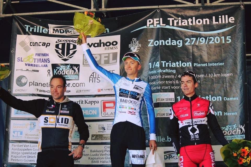 Congratulations to our champ Kenneth Vandendriessche for his great victory at the Triatlon Lille Heren!