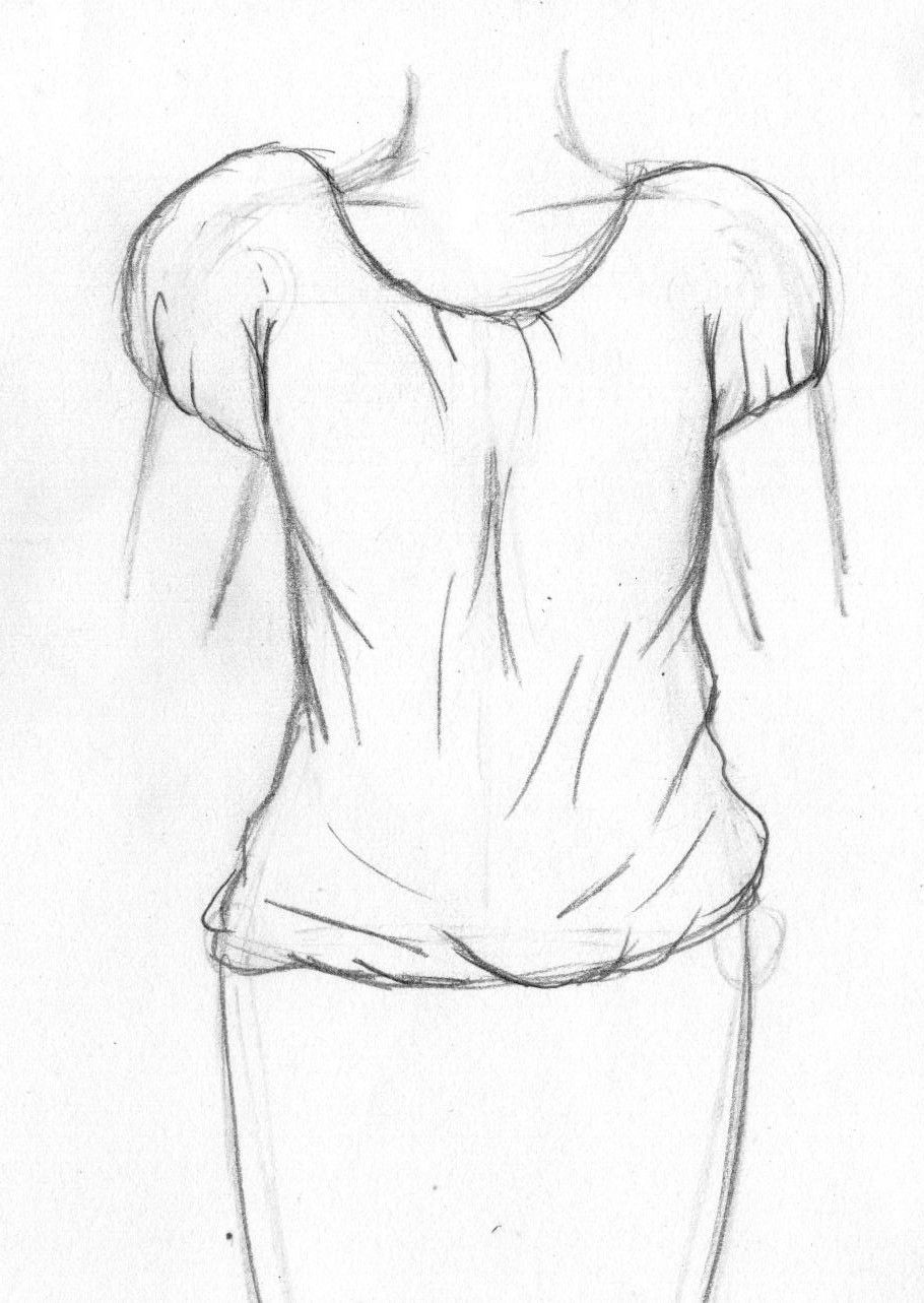 +drawing+shirt  How To Draw A Baggy Shirt With Ruffles And Puffy Sleeves