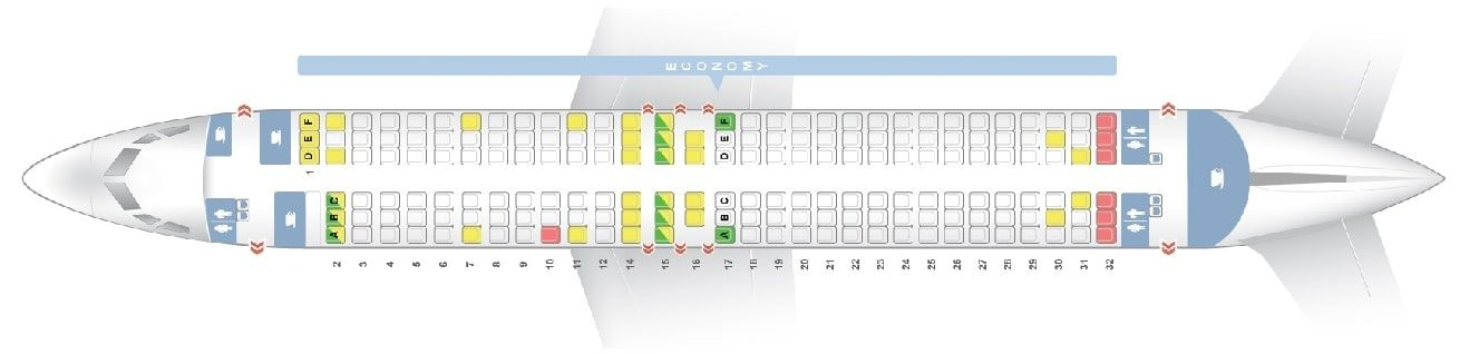 Seat Map And Seating Chart Boeing 737 800 Scandinavian Airlines Sas Boeing Seating Charts Fleet