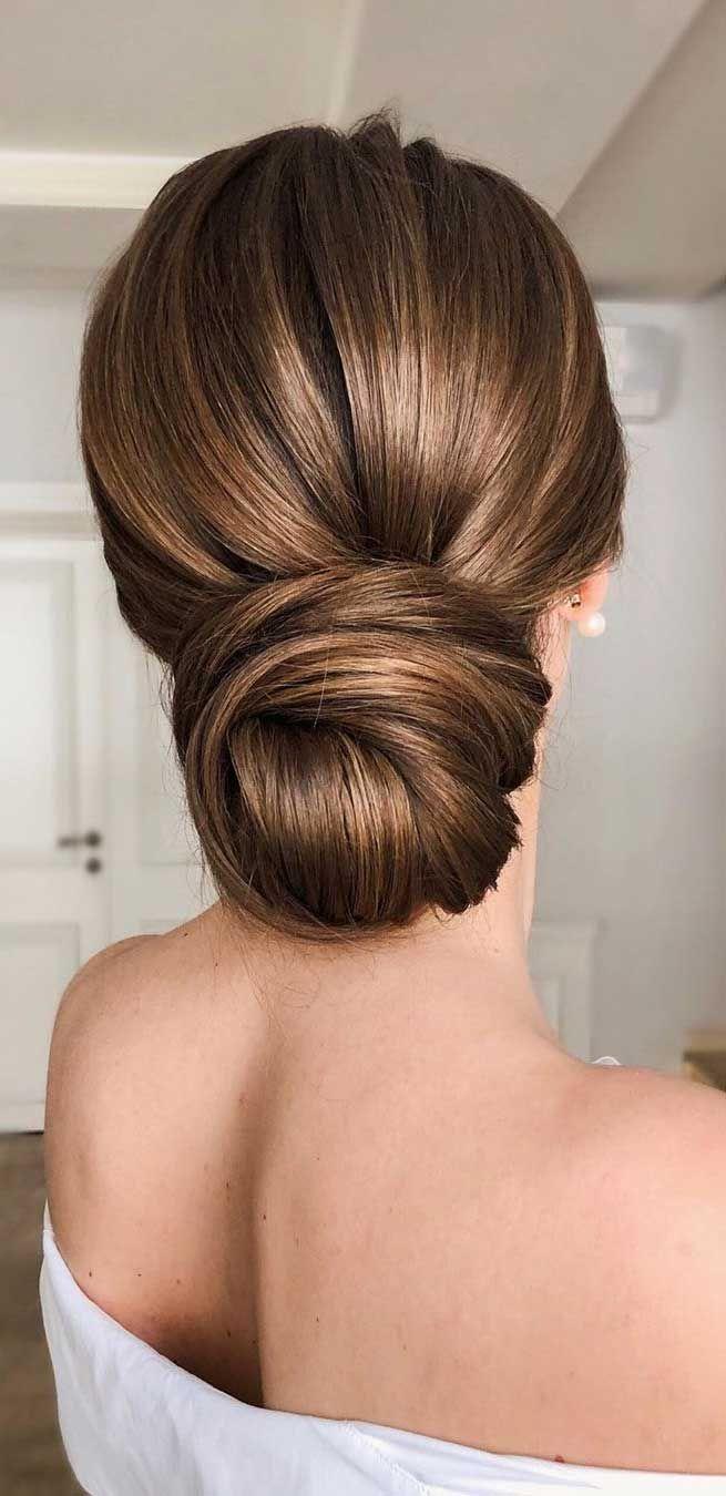 60 Gorgeous Wedding Hairstyles For Every Length | Elegant wedding hair, Bridal hair updo, Bride hair