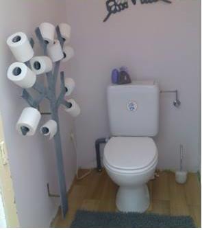 comment faire un arbre papier toilette ou pqtier do it. Black Bedroom Furniture Sets. Home Design Ideas