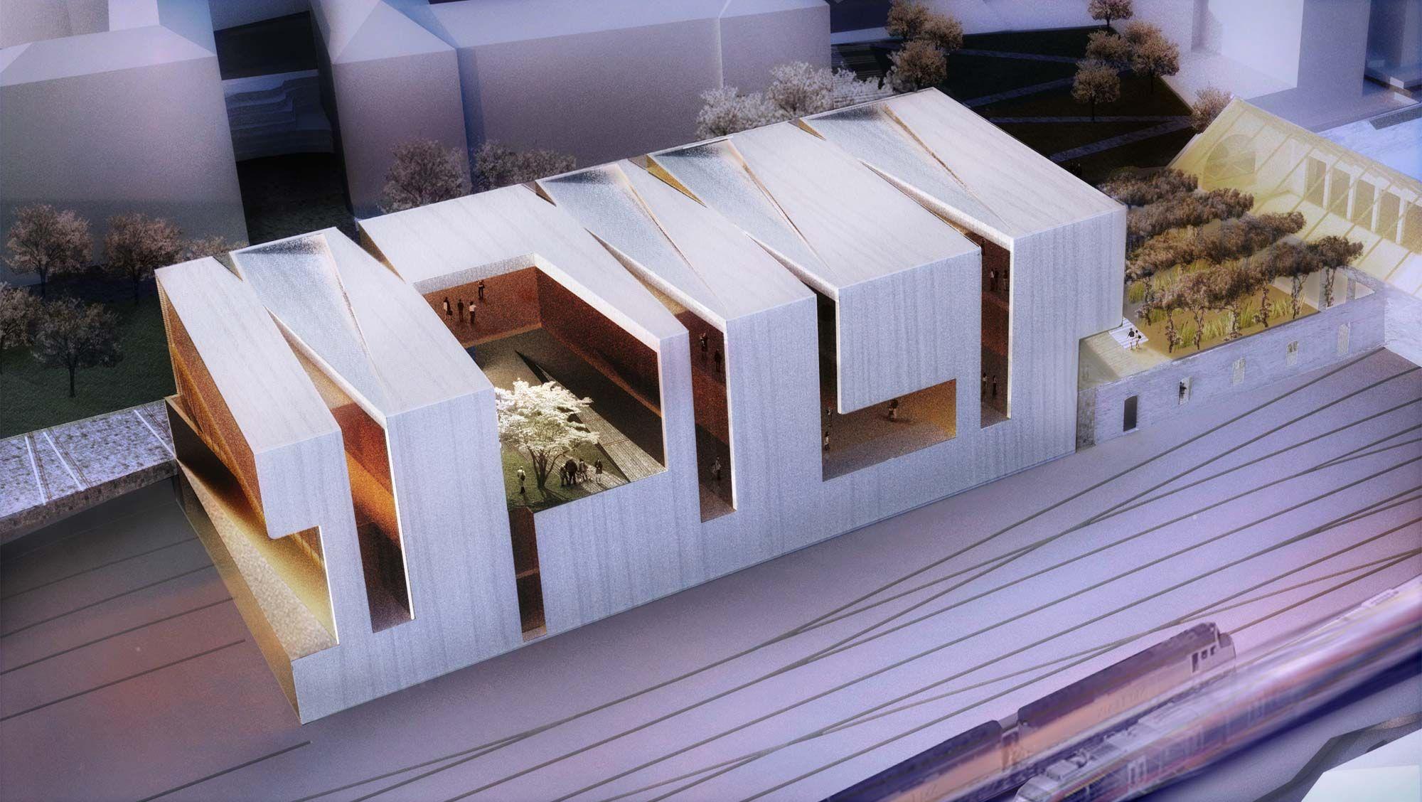 Allied works architecture mus e cantonal des beaux arts for Architecture et art
