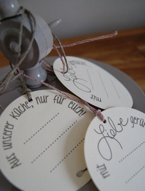 Veridiana Fromm Freebie Friday Kuchen Etiketten Beschriftung