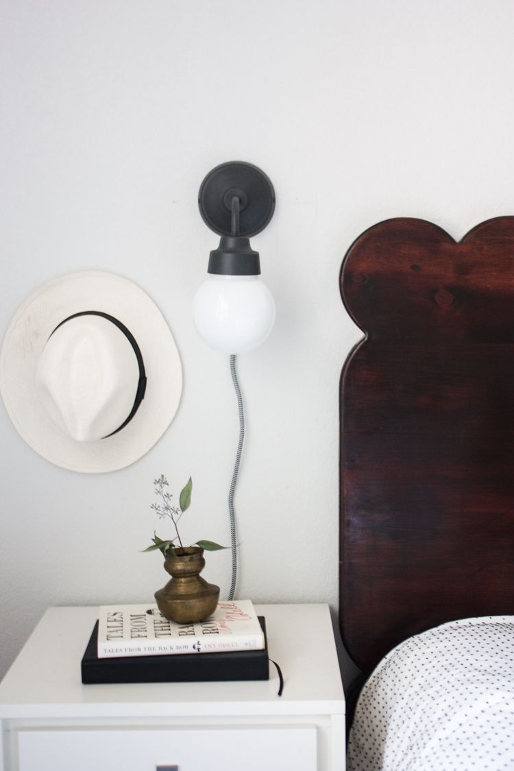 Ikea Hack Plug In Wall Sconces Plug in wall sconce, Wall
