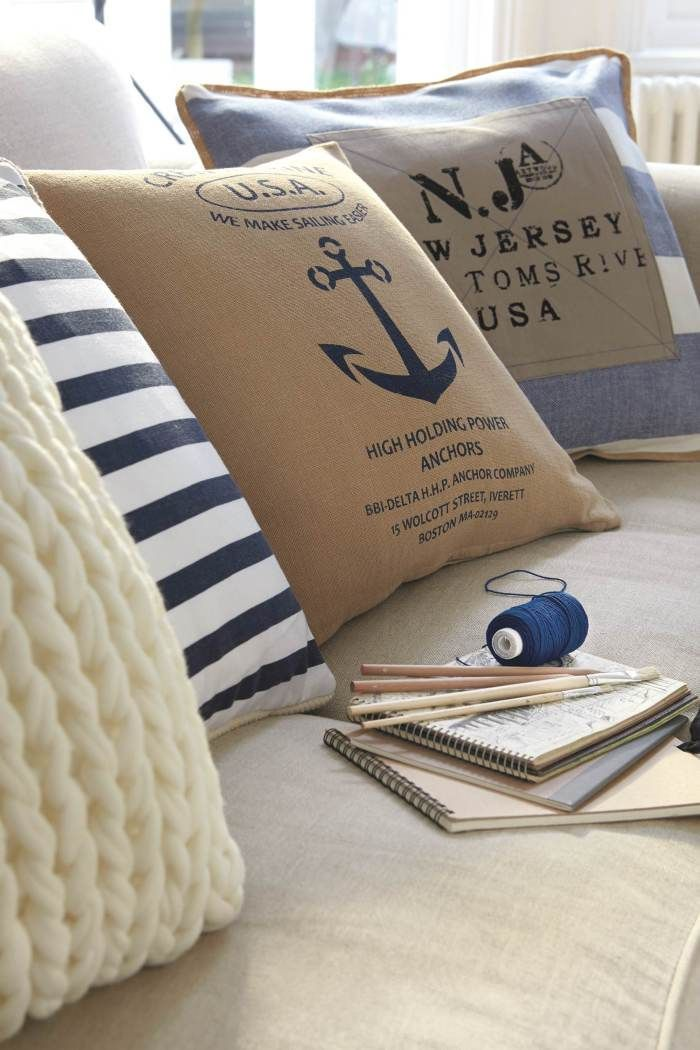 Pin by wfpcc employee blog on palm beach style coastal - Nautical theme living room ...