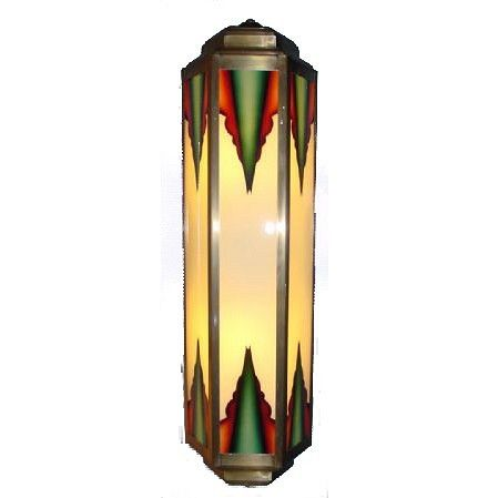 Wandlamp Sheraton Klein Wandlamp Art Deco Verlichting Art Deco Lampen
