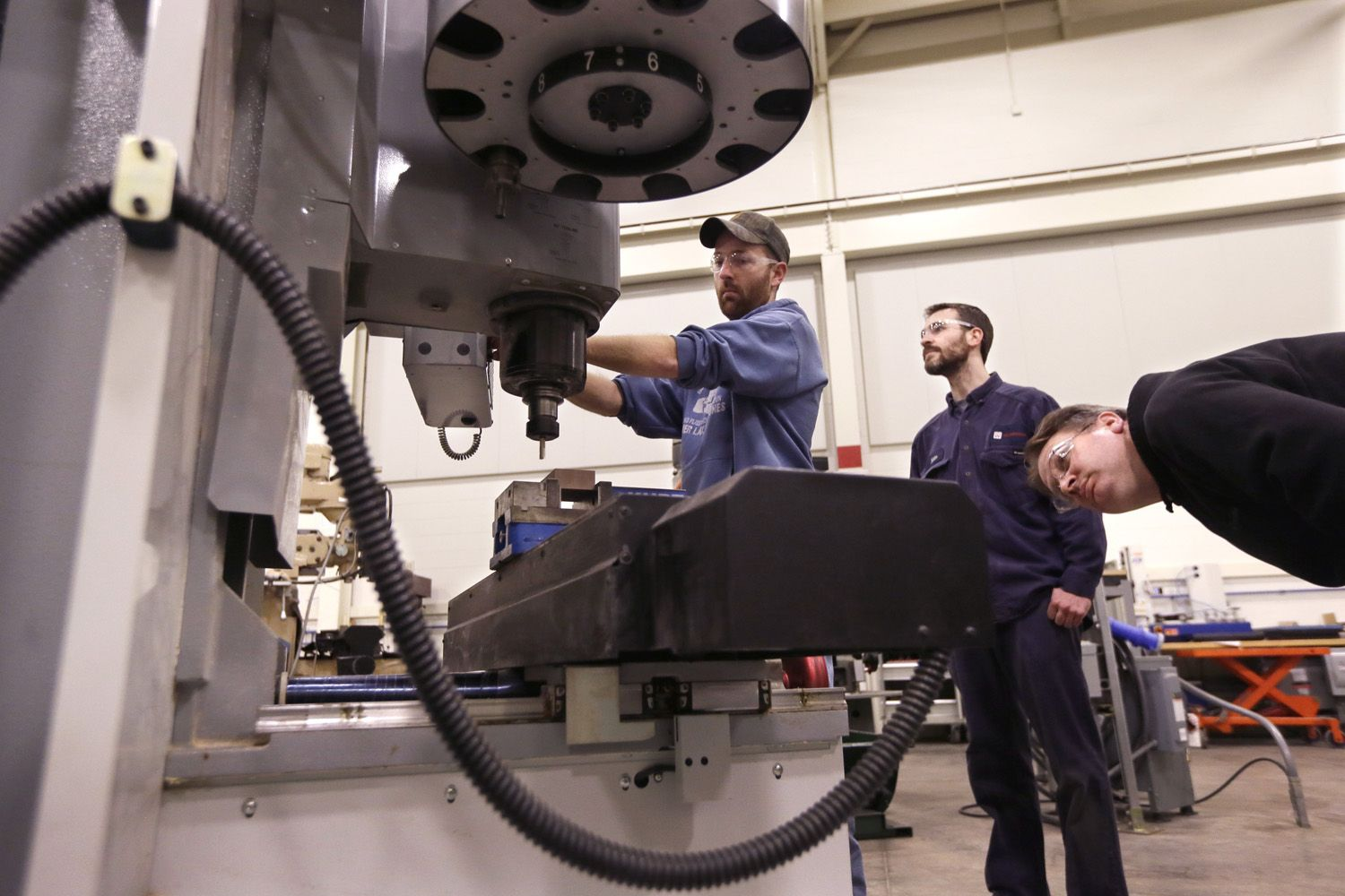 Vocational training is making a big comeback in American