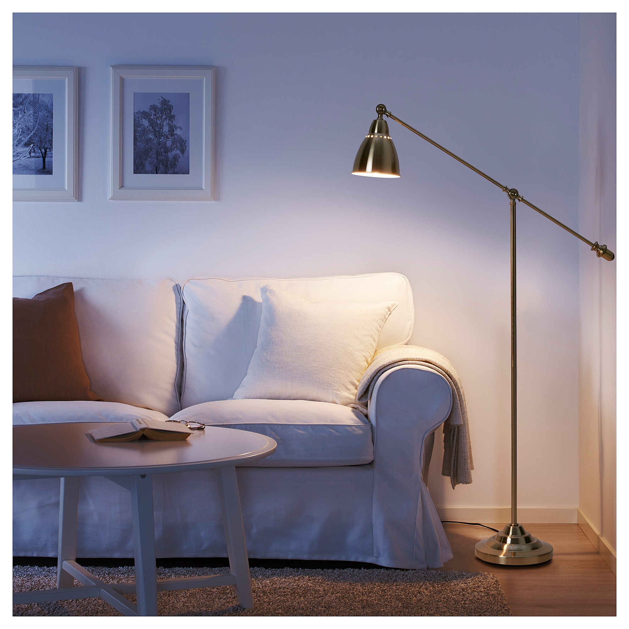 Ikea Barometer Floor Reading Lamp Brass Color In 2019