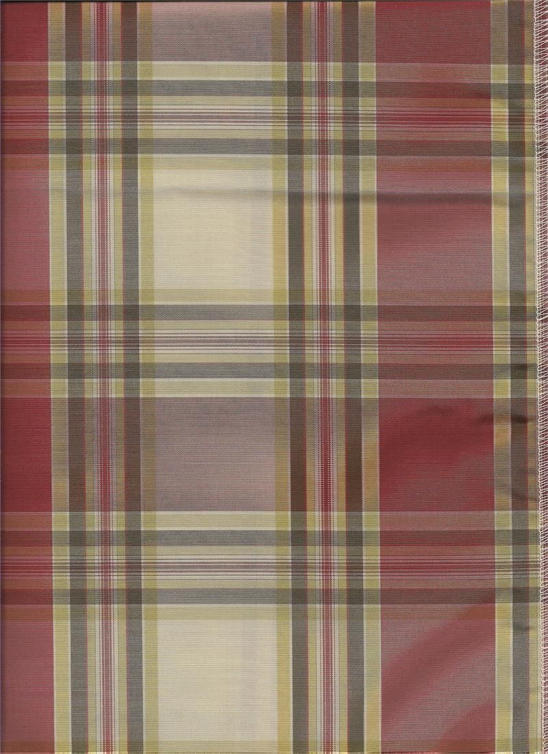 Red plaid curtains - Brafferton Plaid In Red Color For Custom Valances Swag Curtains Draperies And Tiers For