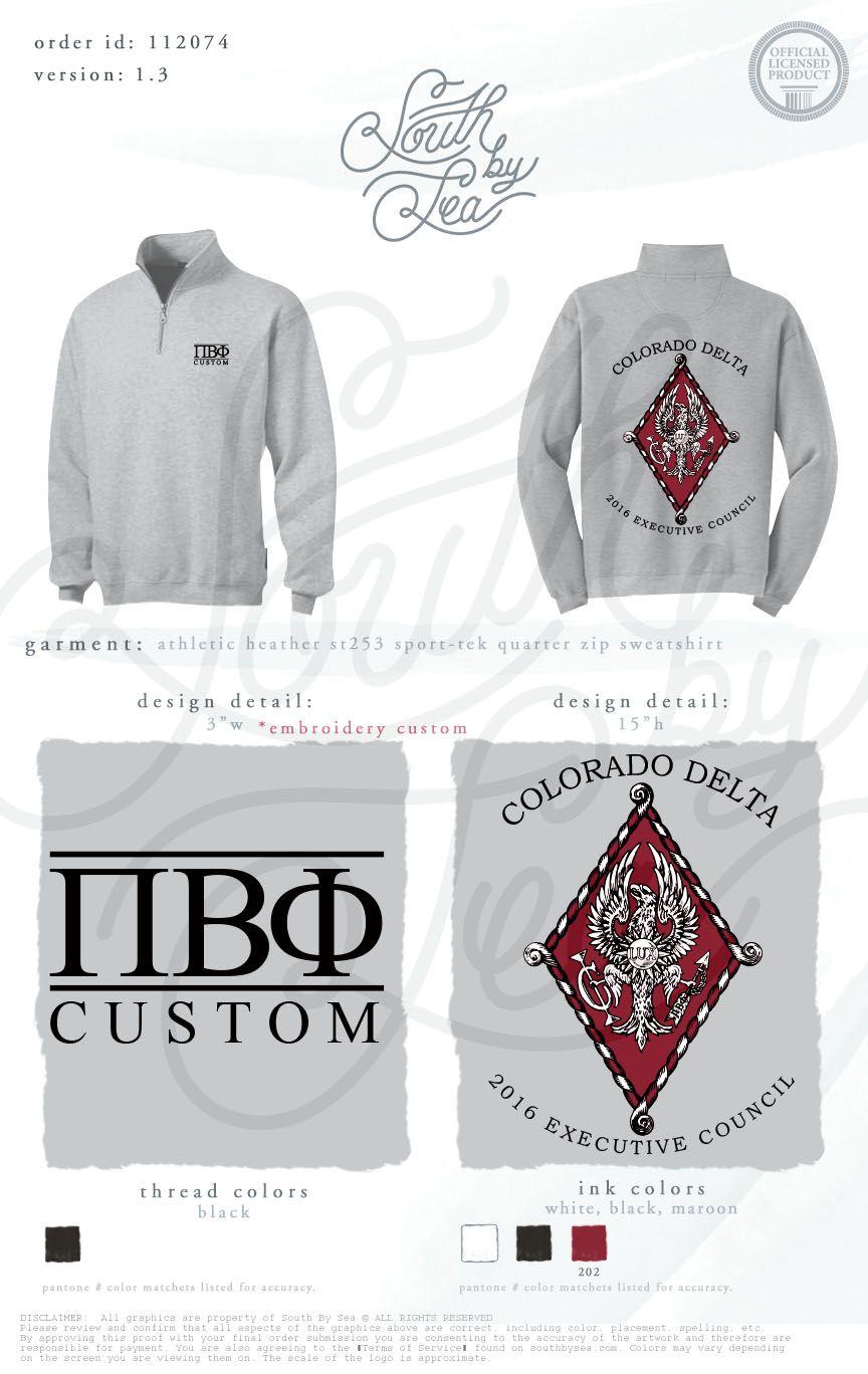 ac61fdc80 Pi Beta Phi | Custom Executive Council Shirts | Exec Board | Colorado Delta  | Sweatshirt