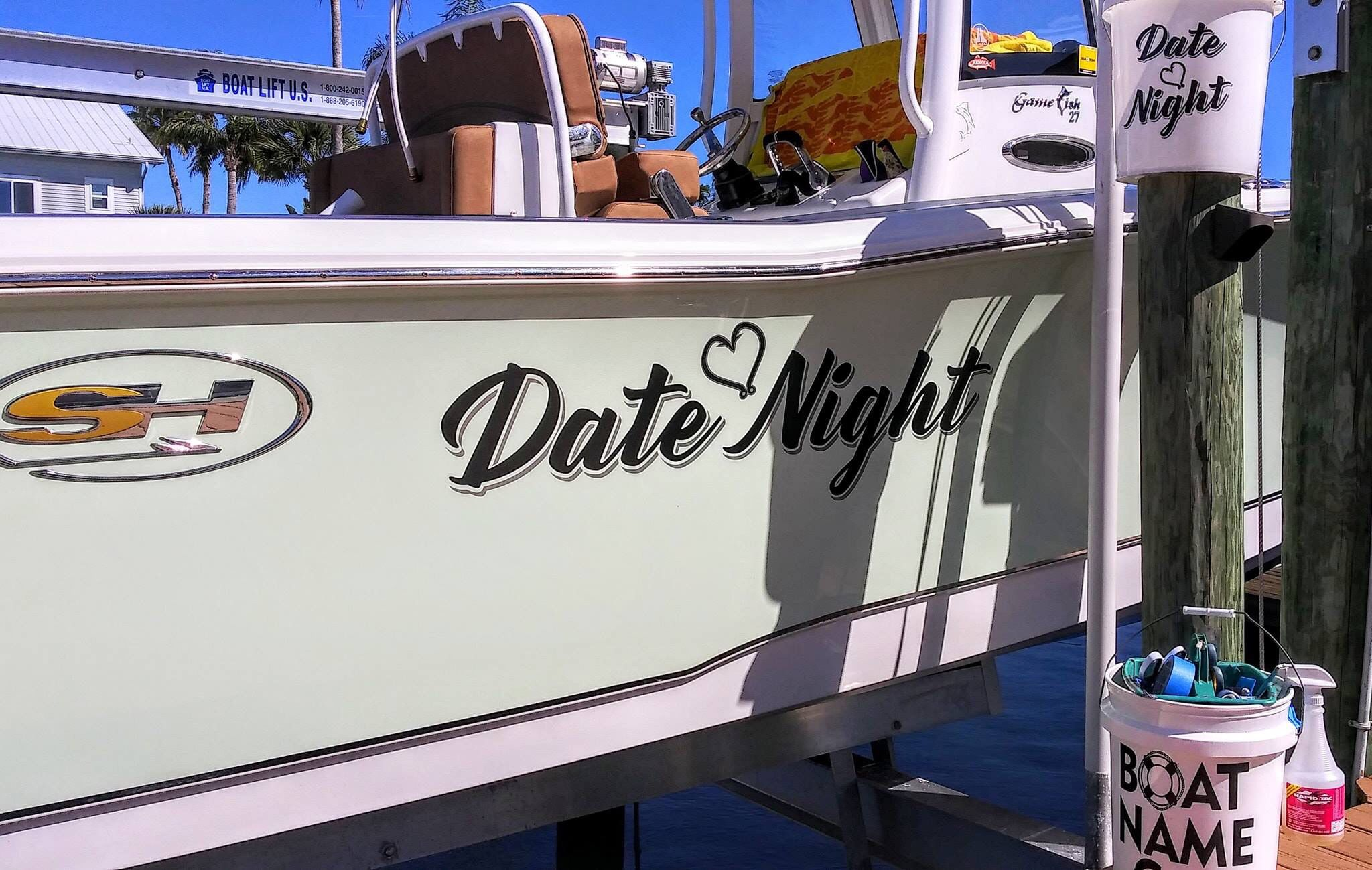 Discover ideas about boat name decals