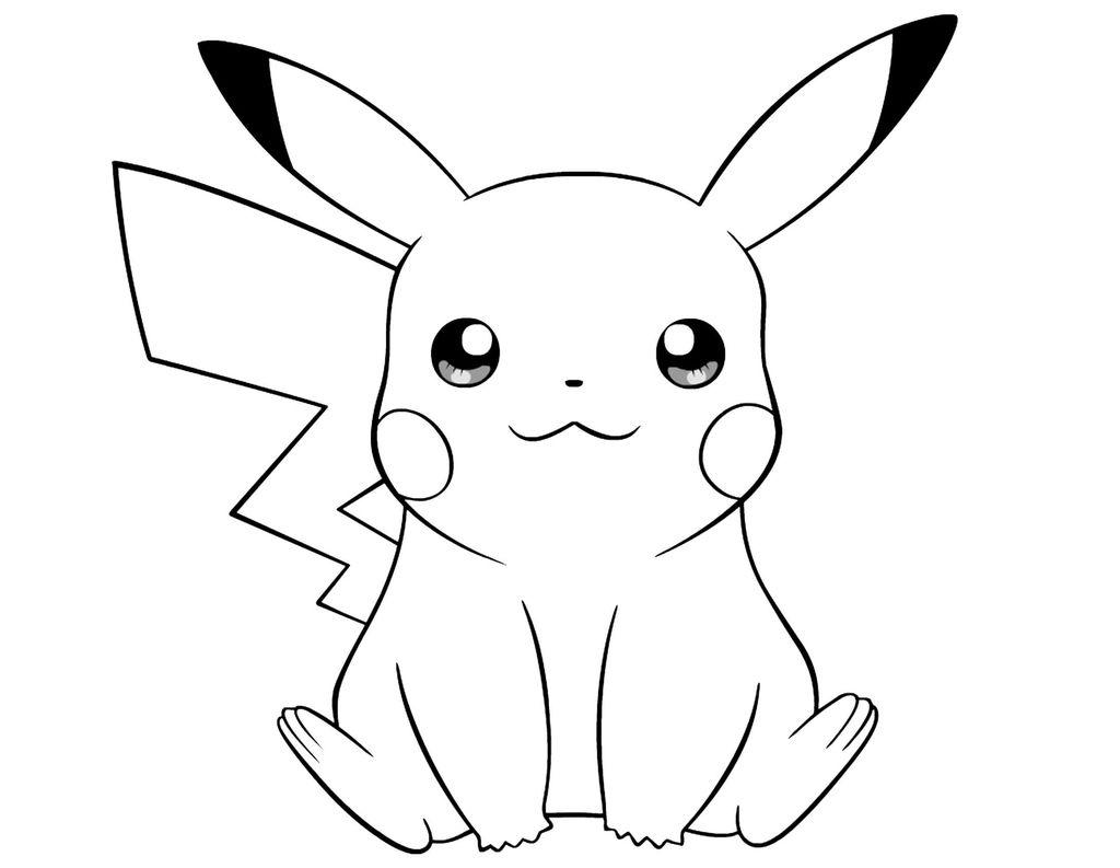 Dibujos De Pikachu Para Colorear Pikachu Coloring Page Pikachu Drawing Pikachu Wallpaper