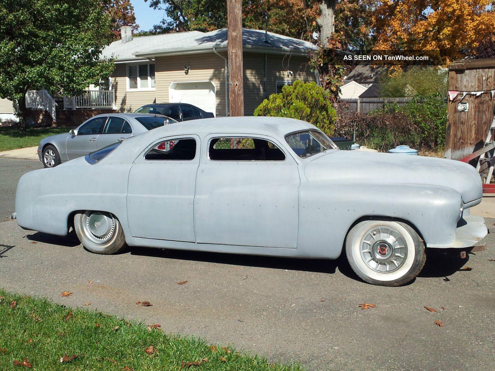 1951 mercury custom sedan chevy 350 w camaro subframe other photo