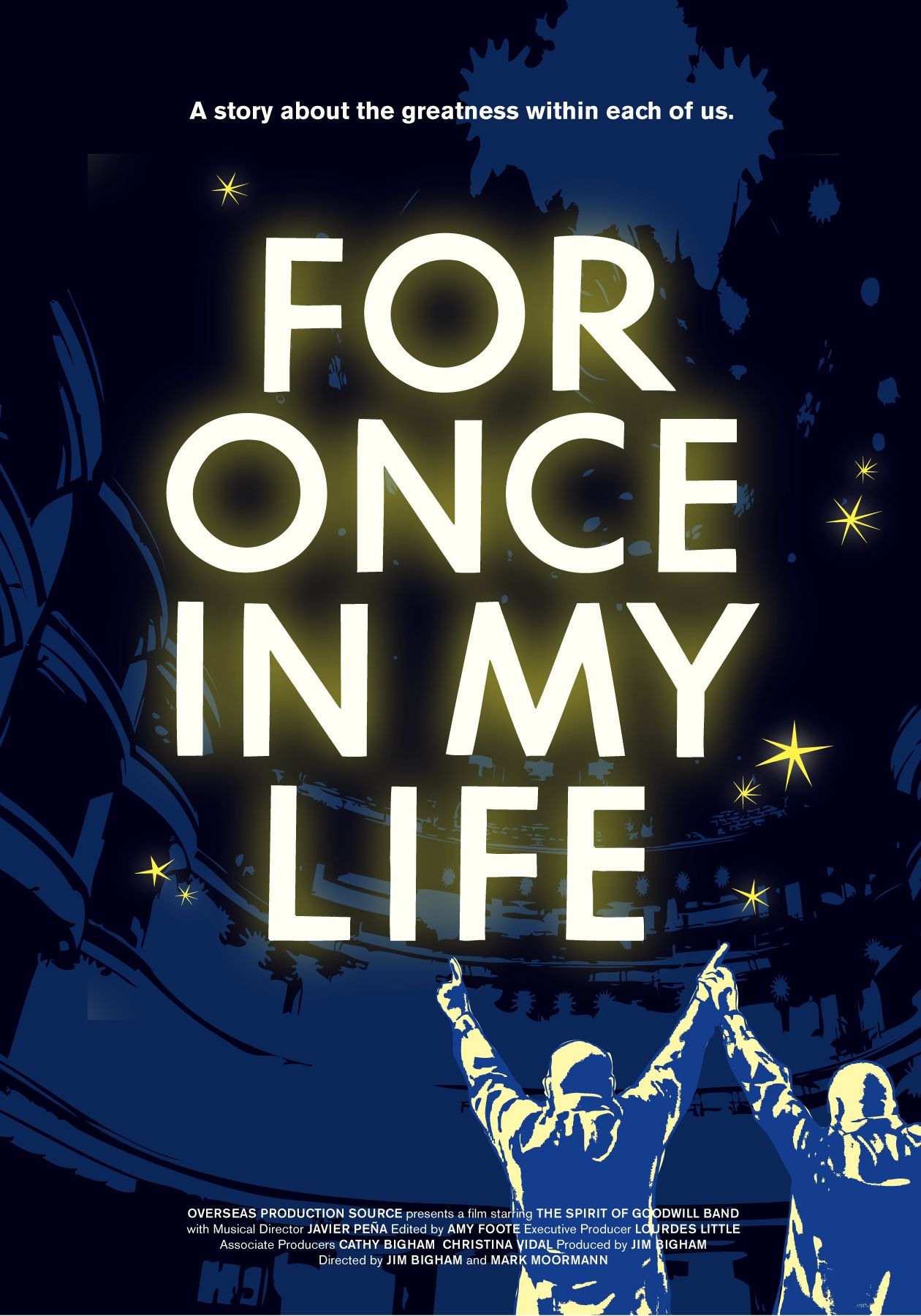 For Once In My Life A Musical Documentary Film Life Poster Amazon Instant Video Documentaries