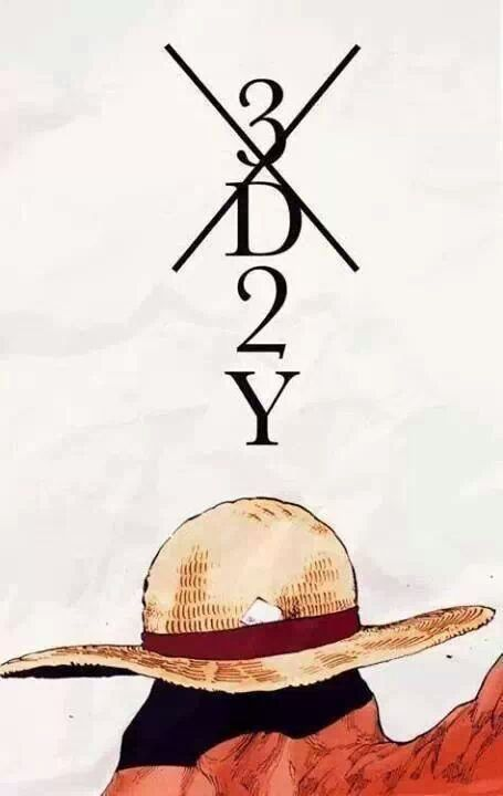 one piece 3d2y