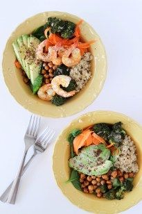 Quinoa Chickpea Buddha Bowls For Every Diet- (Only 35 mins)! - POP KITCHEN