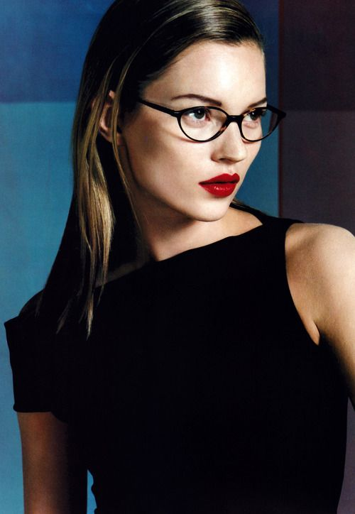 Calvin Klein Eyewear, American Vogue, October 1997.