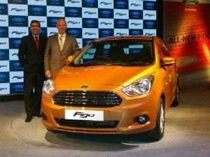 2015 New Generation Ford Figo Hatchback Launched With Images