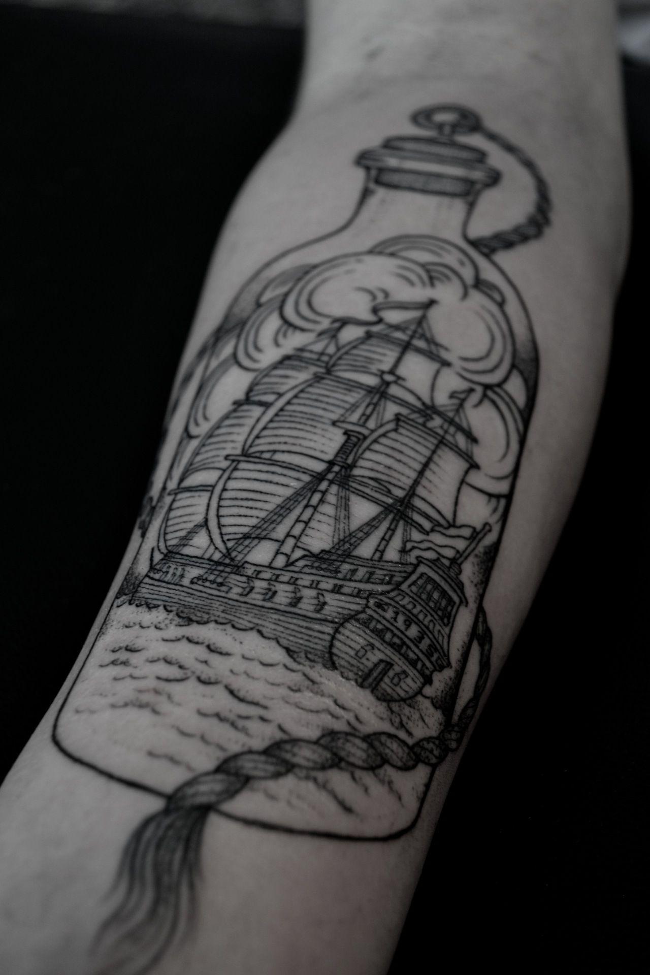 Tool box tattoo by mark old school tattoos by mark pinterest - Tattos
